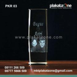 plakat kristal murah