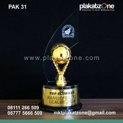Plakat Akrilik Top Scorer Banua Futsal League