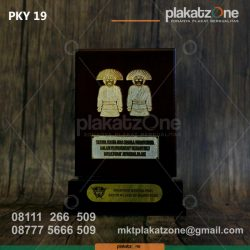 Plakat Kayu Dirjen Pajak Jakarta Pusat